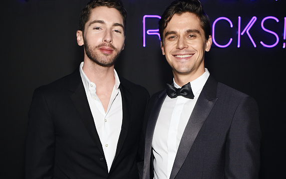Antoni Porowski and Trace Lehnhoff attend an event.