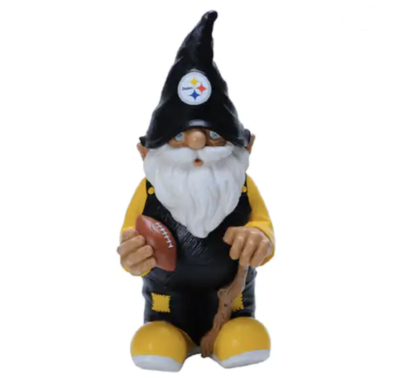 Pittsburgh Steelers garden gnome