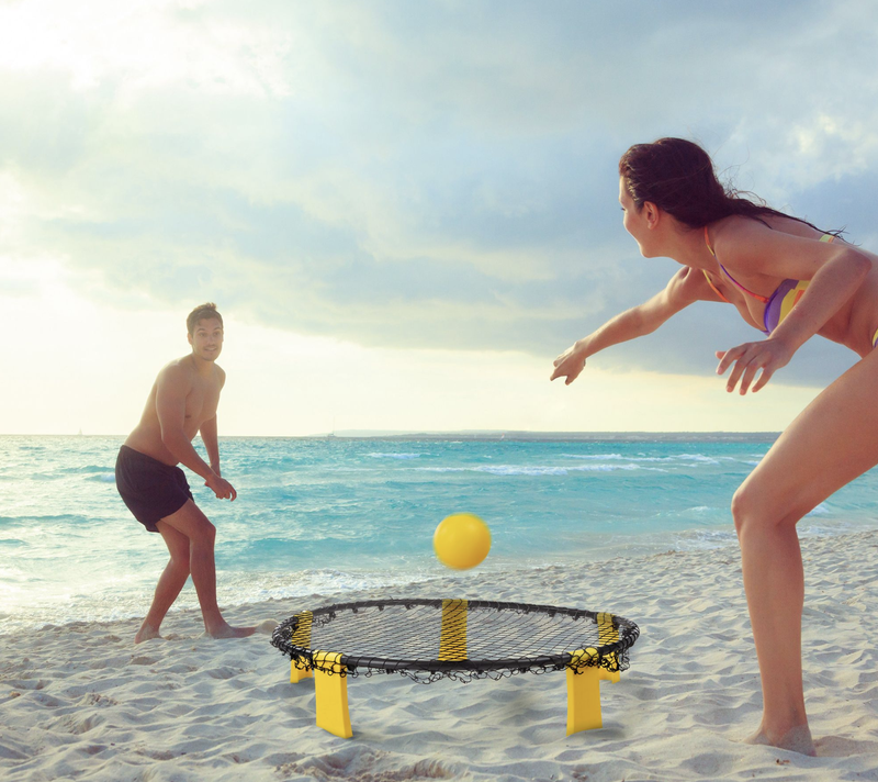 Hey! Play! Battle Volleyball Outdoor TournamentGame Set