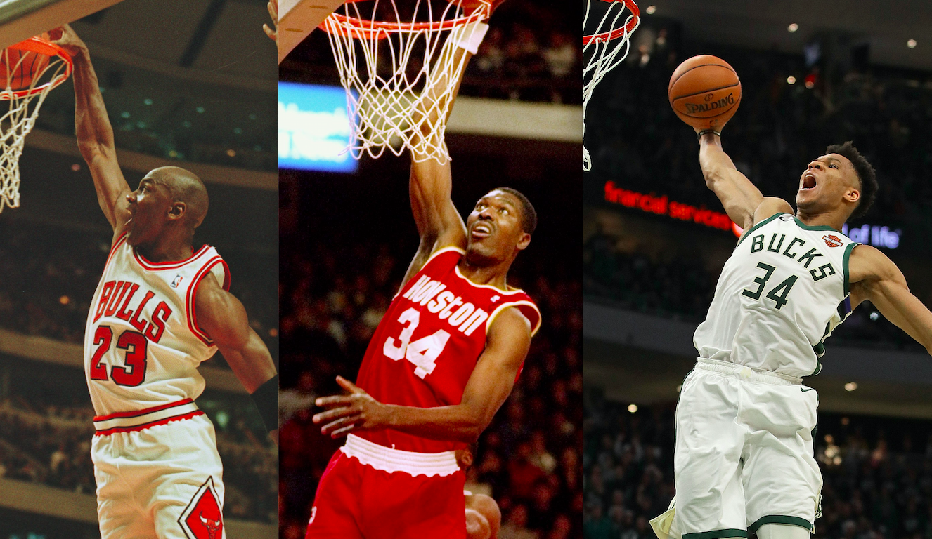 Giannis Antetokounmpo Joins MJ, Olajuwon As Only Players To Win MVP And DPOY In Same Season