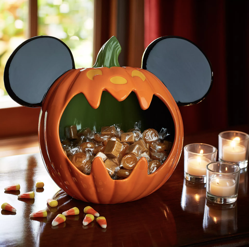 Mickey Mouse pumpkin bowl