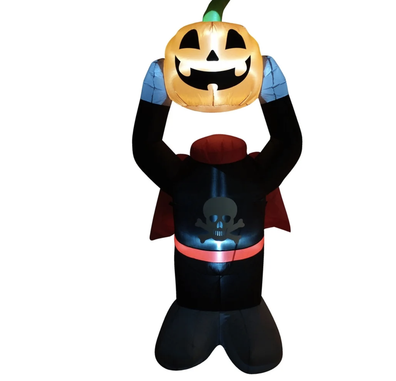 Headless pumpkin