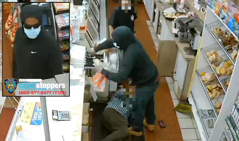 Staten Island bagel shop robbery