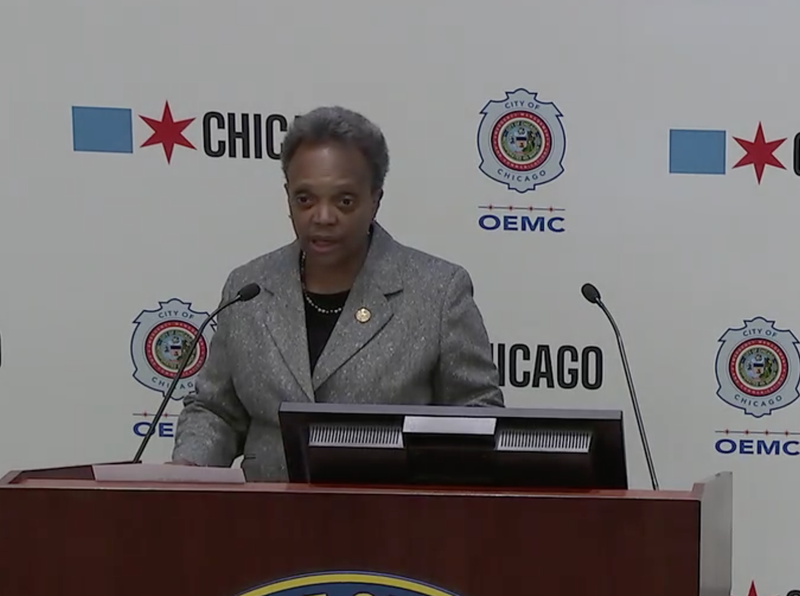 Mayor Lori Lightfoot said the city is going into emergency mode for more than a week as Election Day approaches.