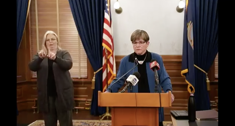 KS Governor Laura Kelly announcing a new mask mandate November 18, 2020