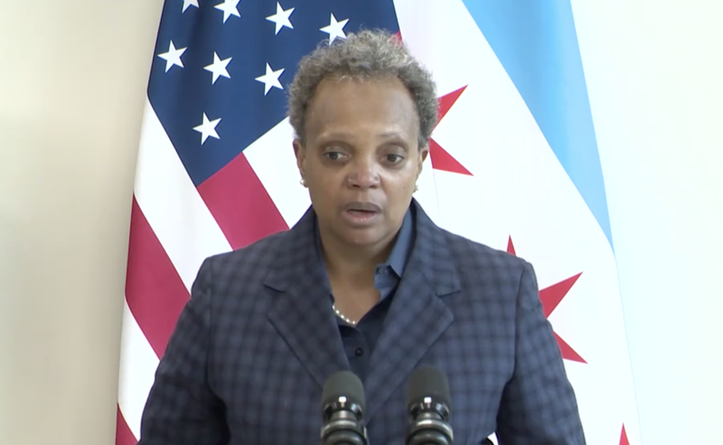 Mayor Lori Lightfoot says the incoming Biden Administration will be a breath of fresh air compared with the Donald Trump White House.