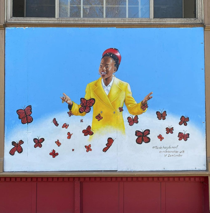 Amanda Gorman mural