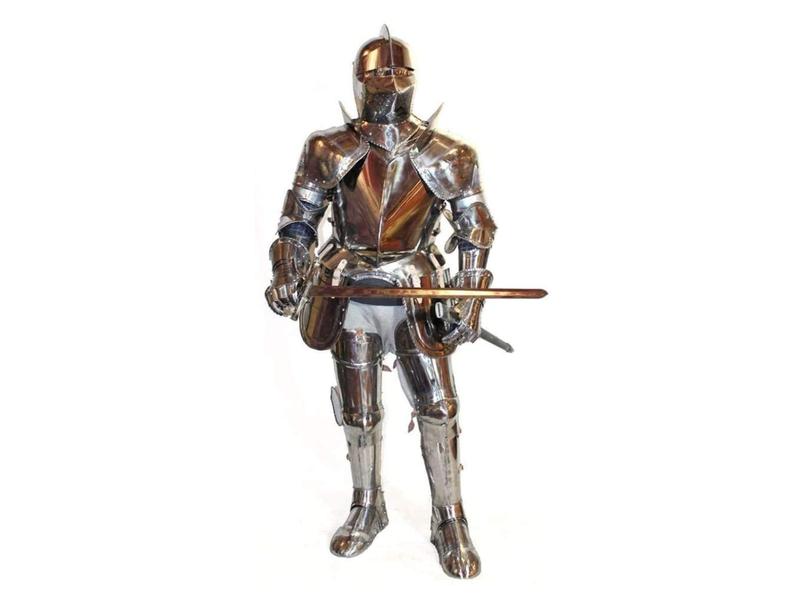 Juxmnnp Steel Man Warrior Armor Suit