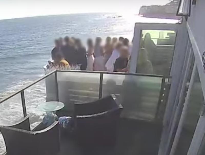 Malibu balcony collapse