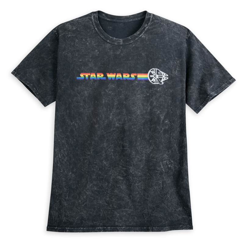 Millennium Falcon Mineral Wash T-Shirt for Adults