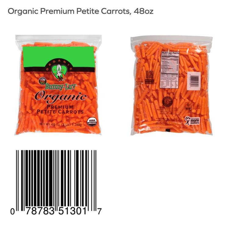 Baby Luv Premium Petite Carrots