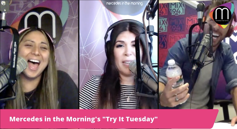 """Mercedes in the Morning's Try It Tuesday: The """"Blind Water Test"""" One"""