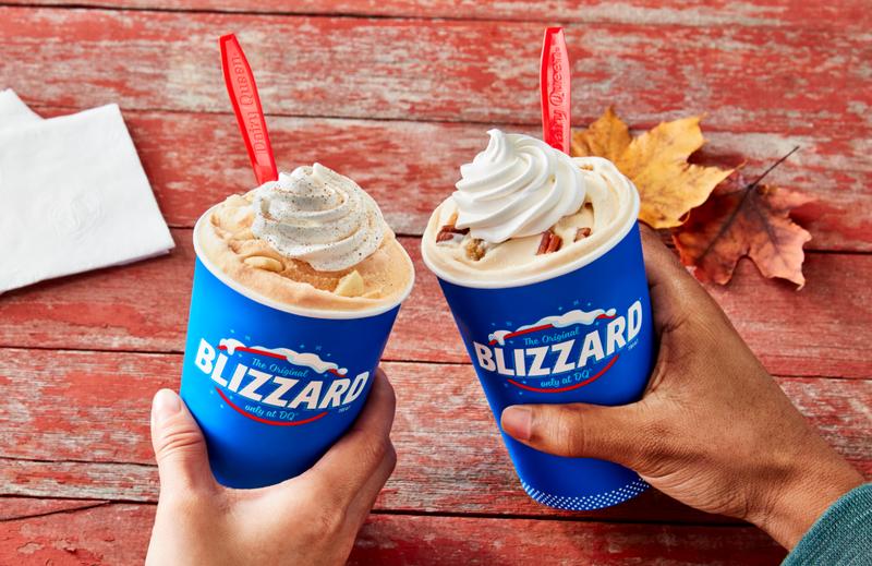 Dairy Queen's Blizzard fall menu