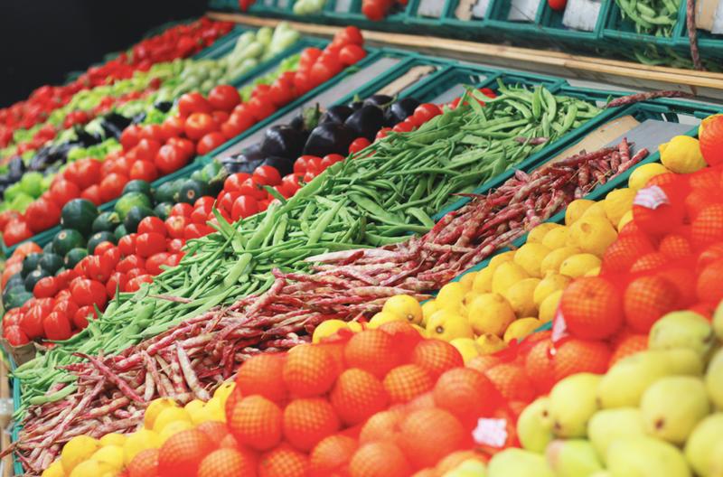 produce aisle generic image