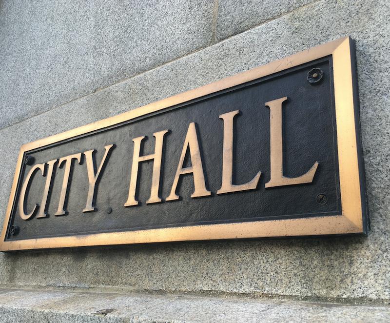 Chicago City Hall plaque