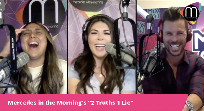 """Mercedes in the Morning's 2 Truths 1 Lie: The """"Montell Jordan"""" One"""