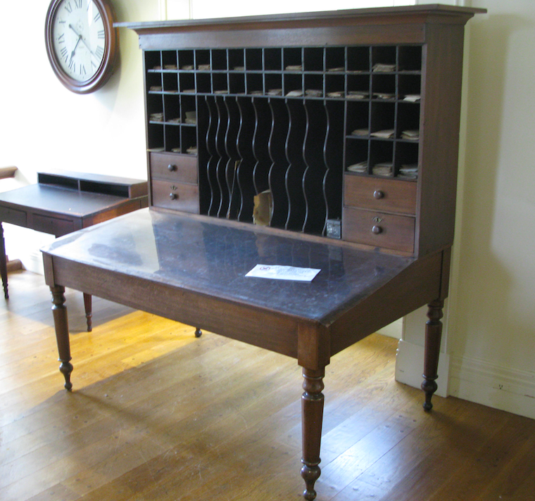 A desk used by Abe Lincoln