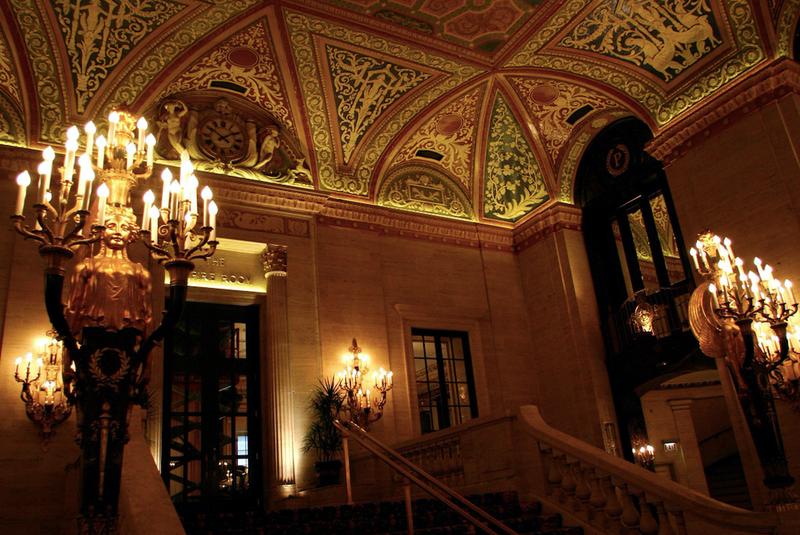 Palmer House interior