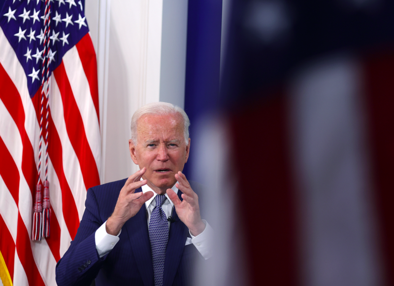 President Biden at the White House