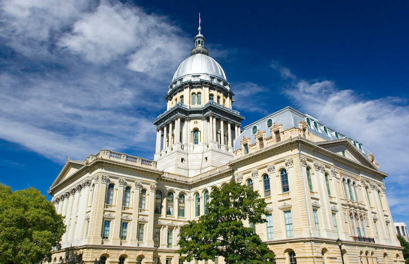 the Statehouse in Springfield