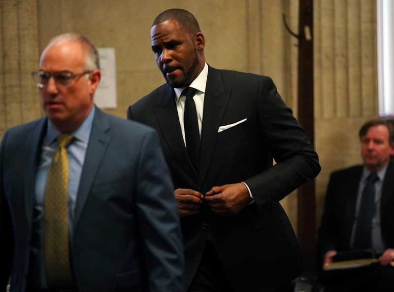 R. Kelly and his attorney Steve Greenberg