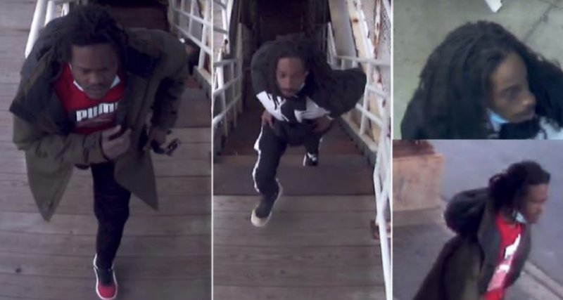Chicago police are seeking two males wanted in connection with a robbery on a CTA train platform Oct. 20, 2020 in Washington Park.