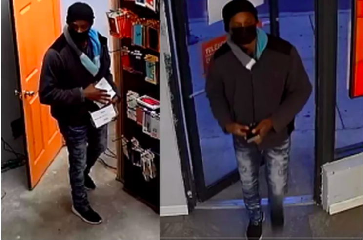 Police say this man committed two robberies on the West Side over the weekend.