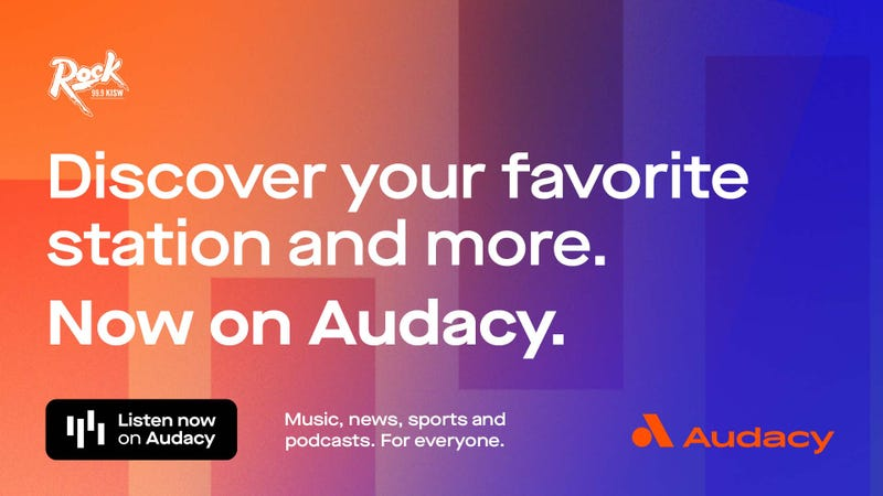 Listen to KISW on the Audacy app