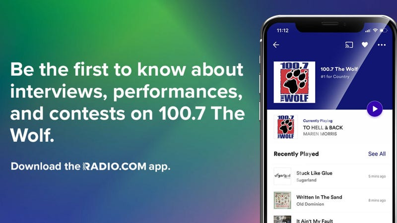 See what's new on 100.7 The Wolf