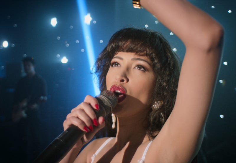 CHRISTIAN SERRATOS as SELENA QUINTANILLA in Trailer of SELENA THE SERIES