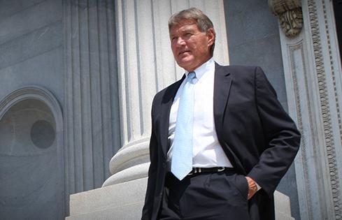 South Carolina Senate President Harvey Peeler