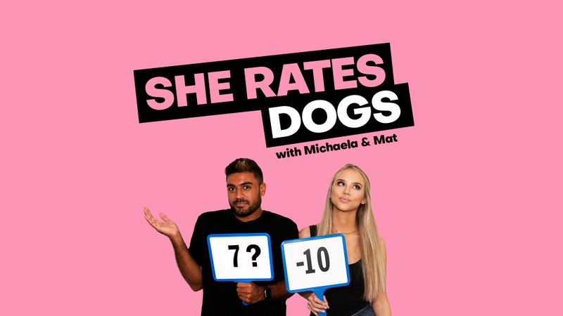 SheRatesDogs Podcast banner