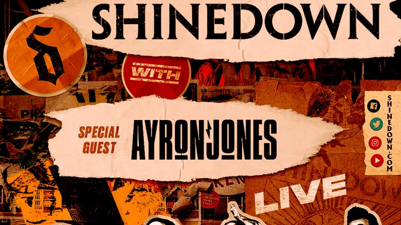 Rock 105 Birthday Bash Ft. Shinedown