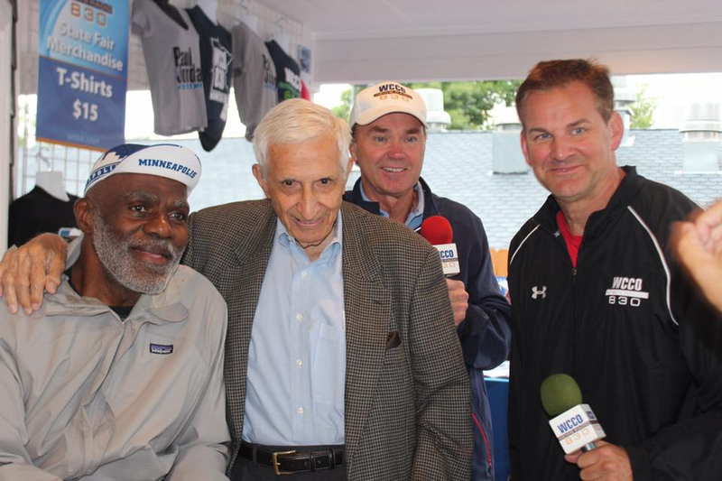 Sid with Alan Page