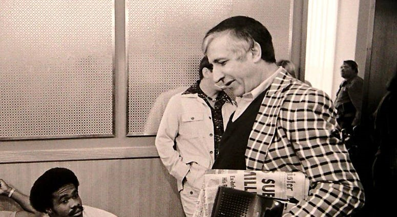 Sid with Matt Blair