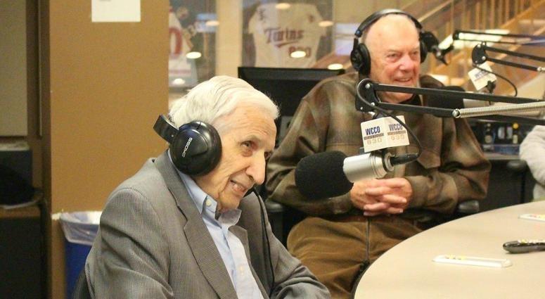 Sid Hartman and Bud Grant