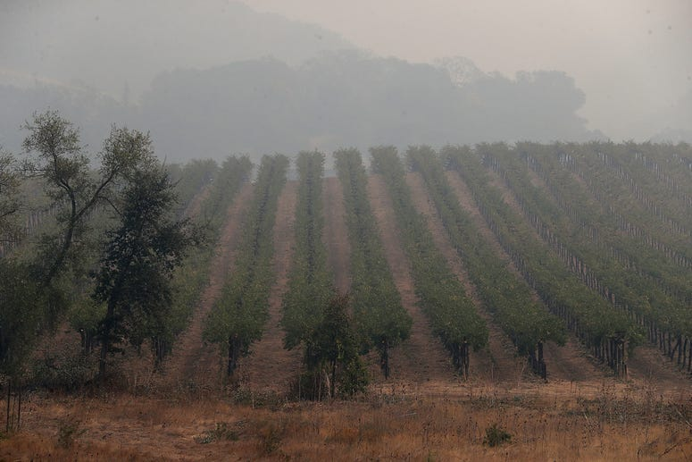 smoke in california