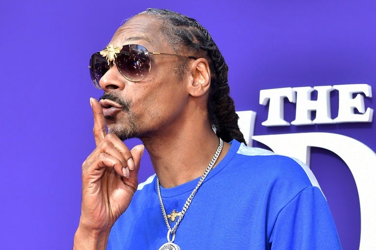 Snoop Dogg attends the Premiere of MGM's 'The Addams Family'