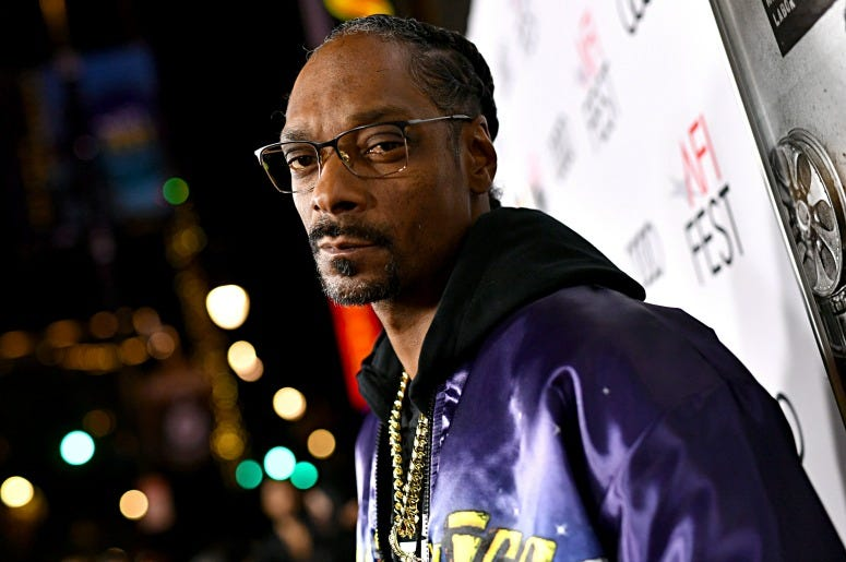 "Snoop Dogg attends the ""Queen & Slim"" Premiere"