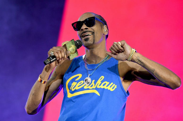 Snoop Dogg performs onstage at SOMETHING IN THE WATER