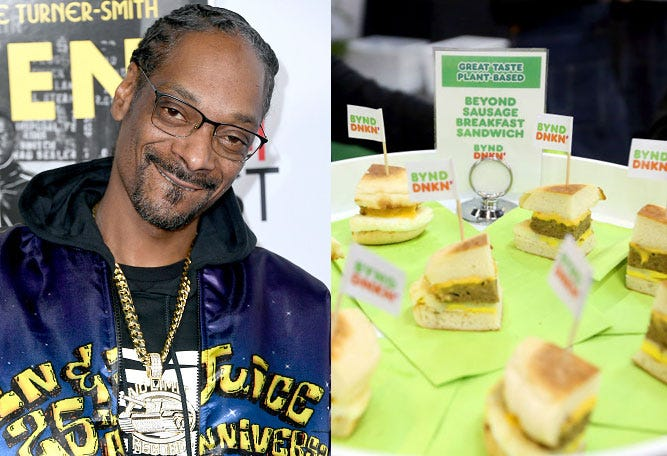 Snoop Dogg and Dunkin'