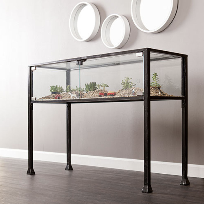 Southern Enterprises Terrarium Display Console