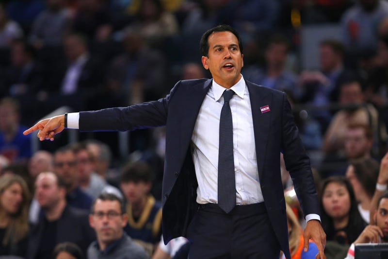 Miami Heat head coach Erik Spoelstra