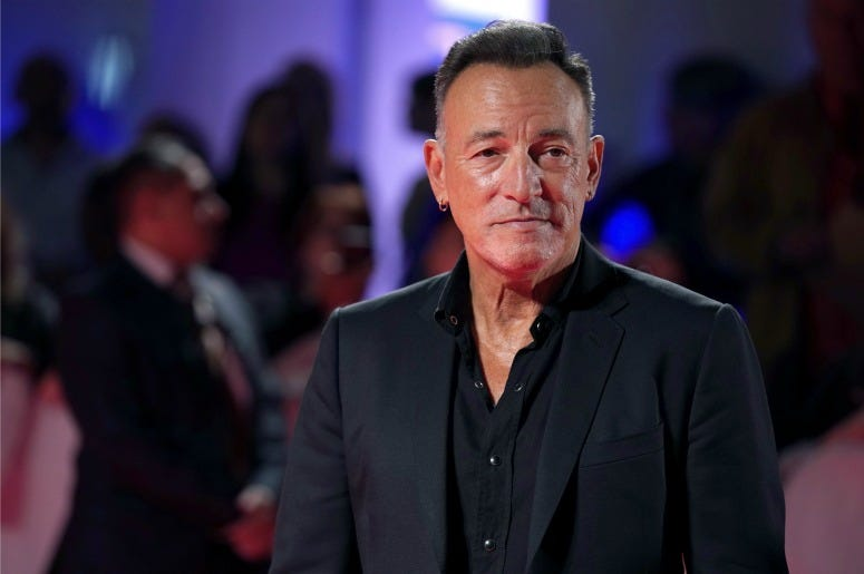 """Bruce Springsteen attends the """"Western Stars"""" premiere during the 2019 Toronto International Film Festival"""
