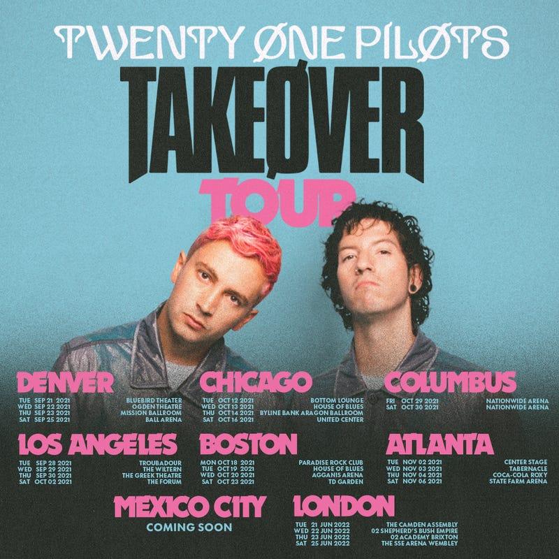 Twenty One Pilots Takeover Tour