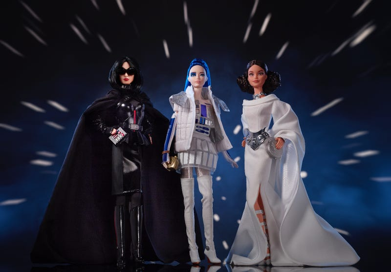 Star Wars inspired Barbies