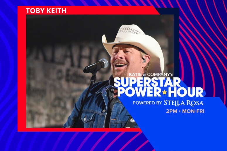 Audacy's Superstar Power Hour with Toby Keith