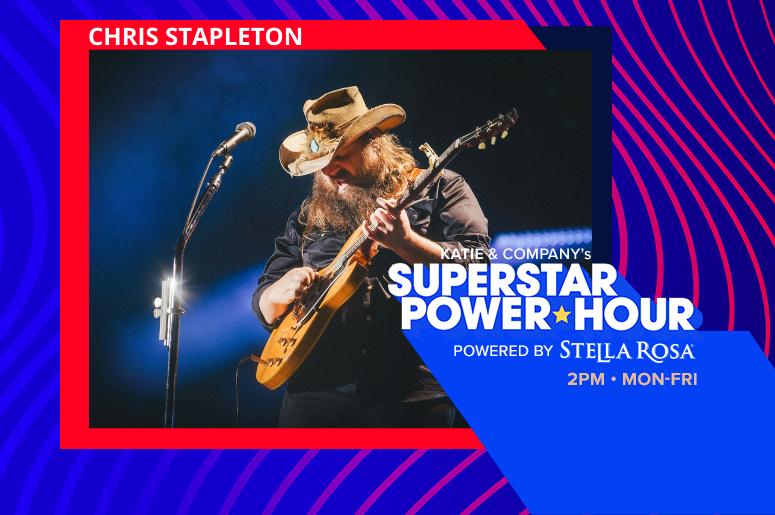 Audacy Superstar Power Hour Chris Stapleton