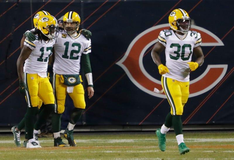 Aaron Rodgers, Davante Adams, Green Bay Packers