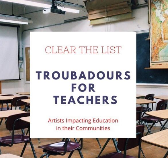Troubadours For Teachers